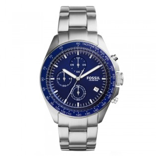 Fossil CH3030 Men's Sport 54 Chronograph Stainless Steel Watch