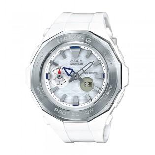[Official Warranty] Casio Baby-G BGA-225-7A Women's Digital Analog White Strap Watch (watch for women / jam tangan perumpuan / casio baby-g watch for women / casio baby-g watch / women watch)