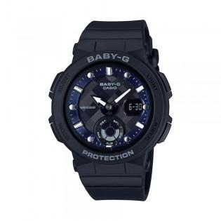 [Official Warranty] Casio Baby-G BGA-250-1A Women's Digital Analog Black Strap Watch (watch for women / jam tangan perumpuan / casio baby-g watch for women / casio baby-g watch / women watch)
