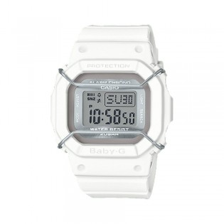 [Official Warranty] Casio Baby-G BGD-501UM-7D Women's Digital White Strap Watch (watch for women / jam tangan perumpuan / casio baby-g watch for women / casio baby-g watch / women watch)