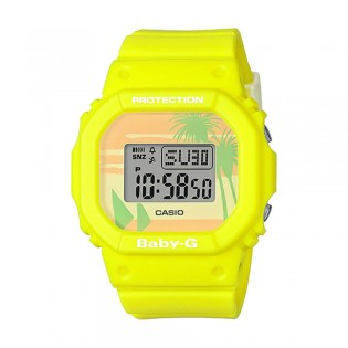 [Official Warranty] Casio Baby-G BGD-560BC-9D Women's Digital Special Color U.S. West Coast Yellow Strap Watch (watch for women / jam tangan perumpuan / casio baby-g watch for women / casio baby-g watch / women watch)