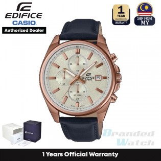 [Official Warranty] Casio Edifice EFV-610CL Series Men's Chronograph Quartz Stainless Steel Strap Watch