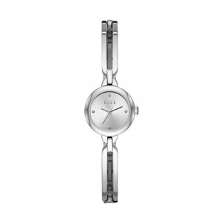[Official Warranty] Elle ELL21001 Women's Wagram Three-Hand Silver Stainless Steel Watch (watch for women / jam tangan perumpuan / elle watch for women / elle watch / women watch)