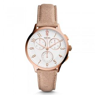 Fossil CH3016 Women's Abilene Chronograph Leather Watch