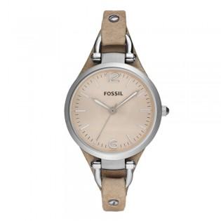 Fossil ES2830 Women's Georgia Quartz Bone Leather Watch