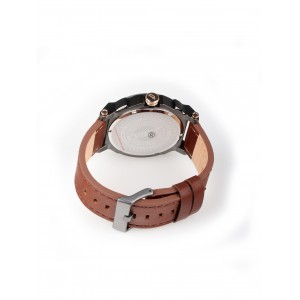 [100% Original] Police PL15048JSU/04 Men's Compass White Dial Brown Leather Strap Watch (watch for man / jam tangan lelaki / police watch for men / police watch / men watch / watch for men)
