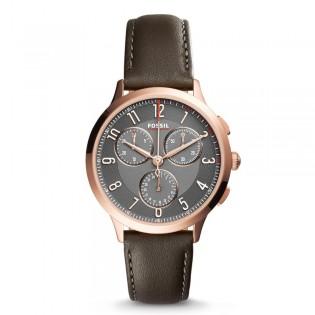 Fossil CH3099 Women's Abilene Sport Quartz Chronograph Leather Watch