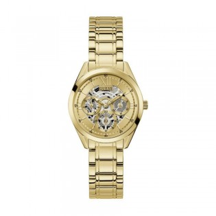 [Official Warranty] Guess GW0253L2 Women's Gold Tone Case Gold Dial Gold Stainless Steel Starp Watch (watch for women / jam tangan perumpuan / guess watch for women / guess watch / women watch)