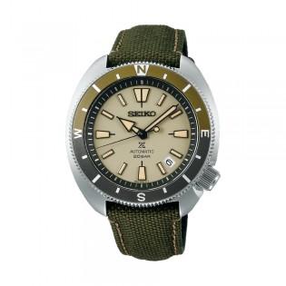 [Official Warranty] Seiko SRPG13K1 Men's Seiko Prospex land Tortoise Automatic Green Polyester Strap Watch (watch for men / jam tangan lelaki / seiko watch for men  / men watch)
