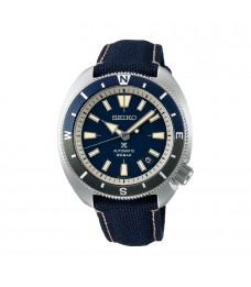 [Official Warranty] Seiko SRPG15K1 Men's Seiko Prospex land Tortoise Automatic Blue Polyester Strap Watch (watch for men / jam tangan lelaki / seiko watch for men  / men watch)