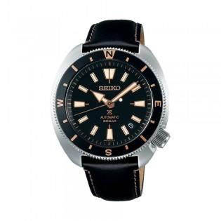 [Official Warranty] Seiko SRPG17K1 Men's Seiko Prospex land Tortoise Automatic Black Calfskin Strap Watch (watch for men / jam tangan lelaki / seiko watch for men  / men watch)