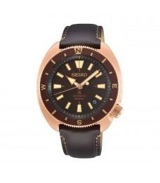 [Official Warranty] Seiko SRPG18K1 Men's Seiko Prospex land Tortoise Automatic Brown Calfskin Strap Watch (watch for men / jam tangan lelaki / seiko watch for men  / men watch)