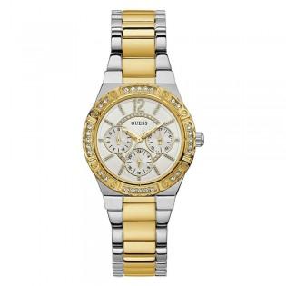 [Official Warranty] Guess W0845L5 Women's Envy Quartz 36mm Stainless Steel Strap Watch (watch for women / jam tangan perumpuan / guess watch for women / guess watch / women watch)
