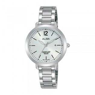[Official Warranty] Alba AH7S99X AH7S99X1 Women's Analog Quartz Silver Stainless Steel Strap Watch (watch for women / jam tangan perumpuan / alba watch for women / alba watch / women watch)