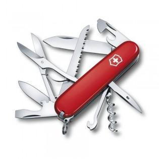 Victorinox Huntsman Multitool Pocket Knife Red 1.3713