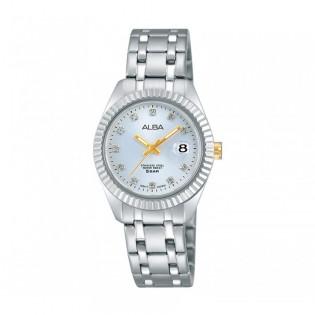 [Official Warranty] Alba AH7G05X AH7G05X1 Women's Analog Quartz 28mm Stainless Steel Strap Watch (watch for women / jam tangan perumpuan / alba watch for women / alba watch / women watch)