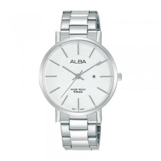 [Official Warranty] Alba AH7T67X AH7T67X1 Women's Analog Quartz Silver Stainless Steel Strap Watch (watch for women / jam tangan perumpuan / alba watch for women / alba watch / women watch)