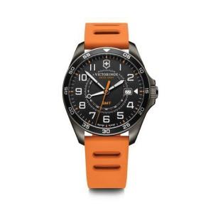 [Official Warranty] Victorinox Swiss Army 241897 Men's Field Force Sport GMT Silicone Strap Watch (watch for men / jam tangan lelaki / victorinox swiss army watch for men / victorinox swiss army watch / men watch)