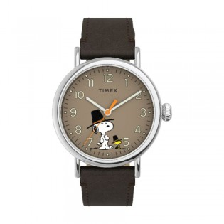 [Official Warranty] Timex TW2U86100 Men's Standard x Peanuts Featuring Snoopy Thanksgiving (watch for men / jam tangan lelaki / timex watch for men / timex watch / men watch)