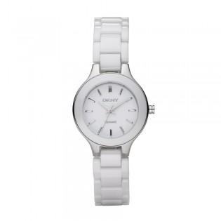DKNY NY4886 Women's White Ceramic Quartz Watch