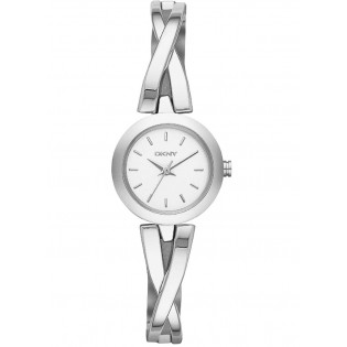 DKNY NY2169 Women's Crosswalk Silver-Tone Quartz Watch