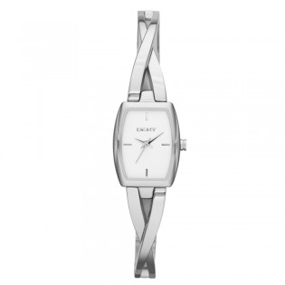 DKNY NY2234 Women's Crosswalk Silver-Tone Quartz Watch