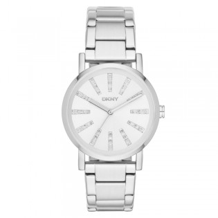 DKNY NY2416 Women's Soho Three Hand Stainless Steel Quartz Watch