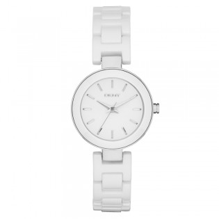 DKNY NY2354 Women's Stanhope White Ceramic Quartz Watch