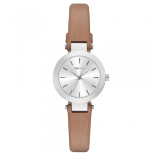 DKNY NY2406 Women's Stanhope Brown Leather Quartz Watch