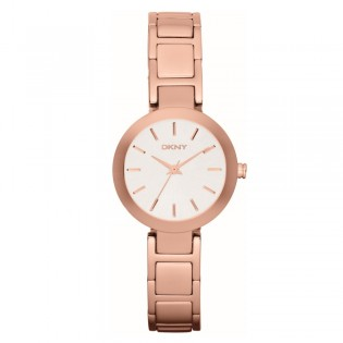 DKNY NY2400 Women's Stanhope Rose Gold Plated Steel Quartz Watch