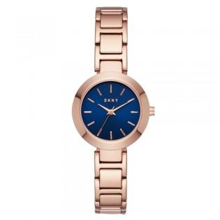DKNY NY2578 Women's Stanhope Rose Gold-Tone Three Hand Quartz Watch