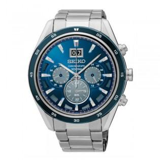 Seiko SPC219P1 Men's Criteria Chronograph Sapphire Steel Watch