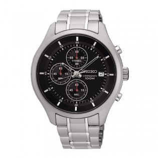 Seiko SKS539P1 Men's Neo Chronograph Steel Watch