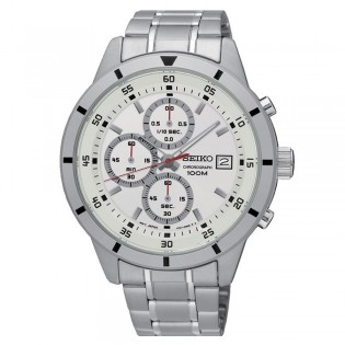 Seiko SKS557P1 Men's Chronograph Quartz Steel Watch