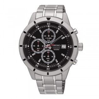 Seiko SKS561P1 Men's Neo Chronograph Quartz Steel Watch