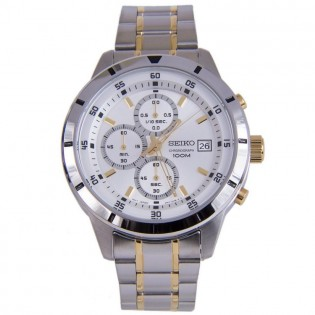 Seiko SKS563P1 Men's Chronograph Quartz Steel Watch