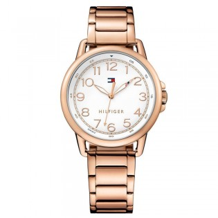 Tommy Hilfiger 1781657 Women's Casey Quartz Rose Gold Plated Steel Watch