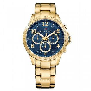 Tommy Hilfiger 1781643 Men's Dani Quartz Gold Plated Steel Watch