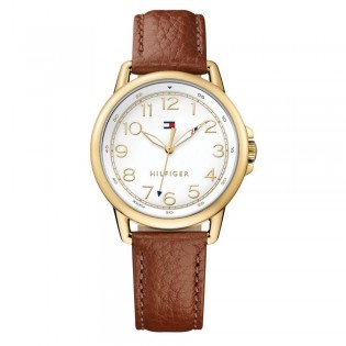 Tommy Hilfiger 1781654 Women's Casey Quartz Leather Watch