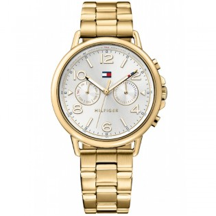 Tommy Hilfiger 1781732 Women's Casey Quartz Multifunction Gold Plated Steel Watch