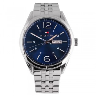 Tommy Hilfiger 1791061 Men's Charlie Quartz Day & Date Steel Watch
