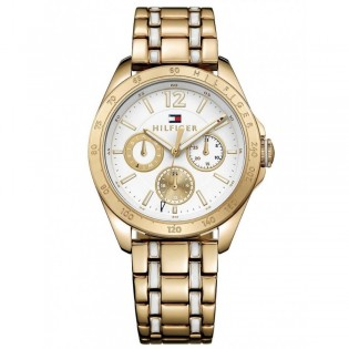 Tommy Hilfiger 1781665 Women's Darcy Quartz Gold Plated Steel Watch
