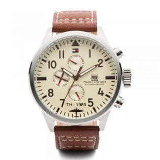 Tommy Hilfiger 1790684 Men's Multifunction Quartz Leather Watch