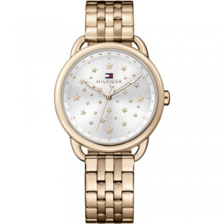 Tommy Hilfiger 1781738 Women's Lucy Quartz Rose Gold Plated Steel Watch
