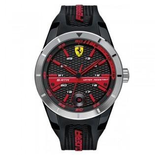 Scuderia Ferrari 830253 Men's Redrev Quartz Silicone Strap Watch