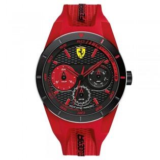Scuderia Ferrari 830258 Men's Redrev Quartz Silicone Strap Watch