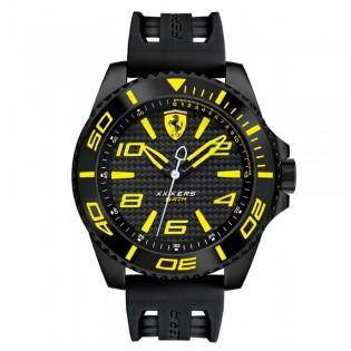 Scuderia Ferrari 830307 Men's XX Kers Quartz Silicone Strap Watch