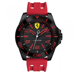 Scuderia Ferrari 830308 Men's XX Kers Quartz Silicone Strap Watch