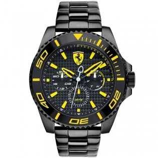 Scuderia Ferrari 830309 Men's XX Kers Multifunction Quartz Steel Watch