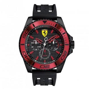 Scuderia Ferrari 830310 Men's XX Kers Quartz Silicone Strap Watch